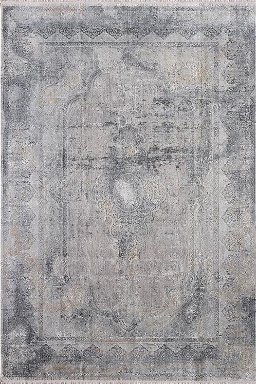 Toros Overdyed Frost Grey Rug