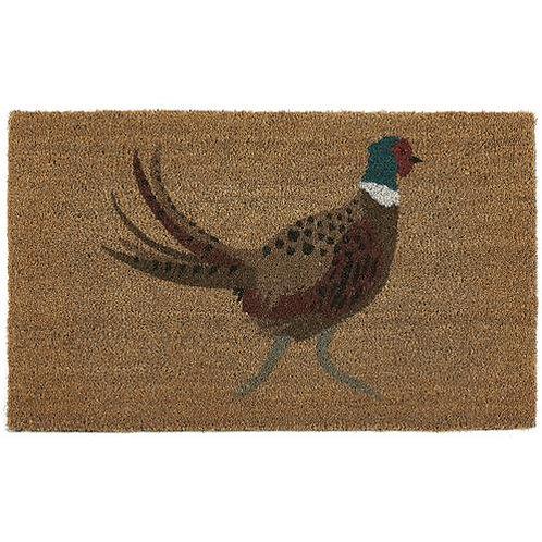 My Mat Printed Coir Doormat Pheasant
