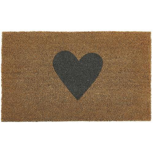 My Mat Printed Coir Doormat Heart