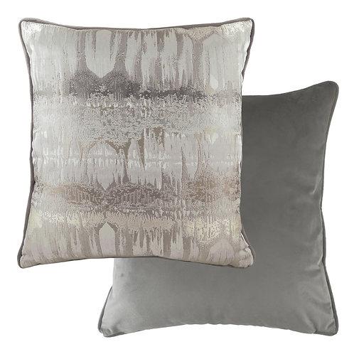 Inca Steel Grey Cushion Poly Fill 43cm x 43cm