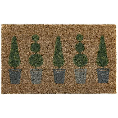 My Mat Printed Coir Doormat Topiary