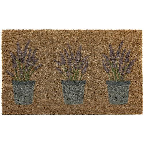 My Mat Printed Coir Doormat Lavender