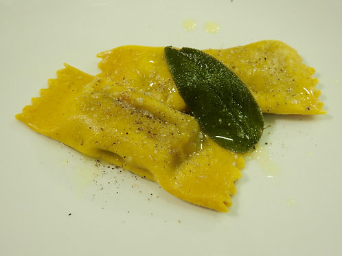 Caramelle filled with Ricotta and Lemon