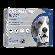 Frontline Tri-ACT 10 a 20 Kg - Antipulga