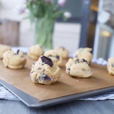 Choco Chunk Puddle Cookies