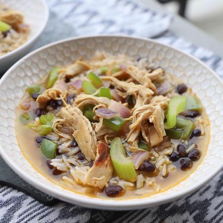 Cajun Chicken, Rice & Beans