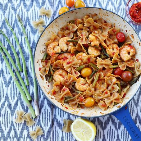 Calabrian Chile Shrimp Scampi