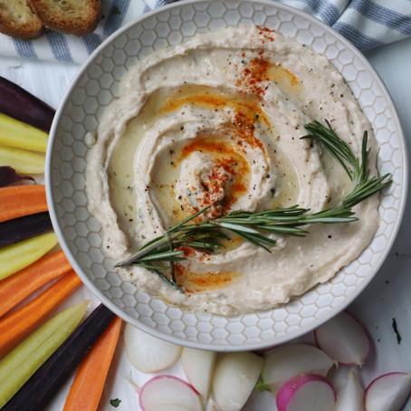 White Bean & Ricotta Hummus