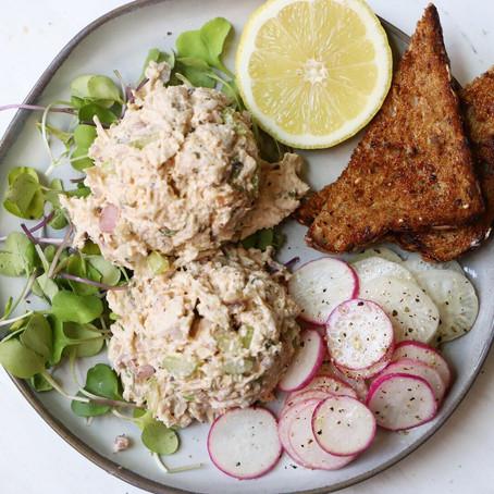 (healthier) Tarragon Chicken Salad