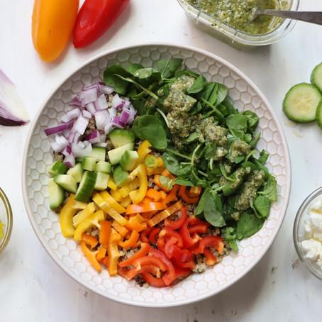 BYO Rainbow Quinoa Bowl