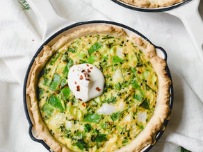 Dill and Veggie Spring Quiche