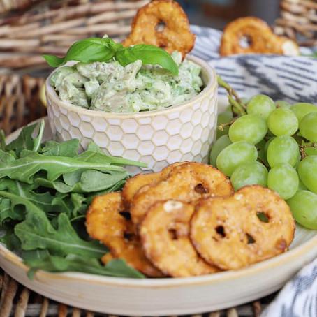 Lemon Basil & Tarragon Chicken Salad