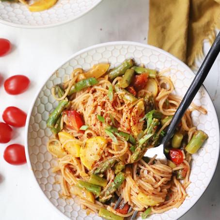 Summer Garden Pasta - One Pot!