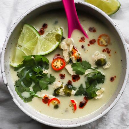 Tom Kha Gai (Coconut Chicken Soup)