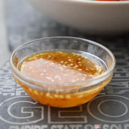 Orange Sesame Vinaigrette