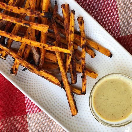 Sweet (and savory) Potato Fries