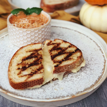 Dijon Turkey Grilled Cheese
