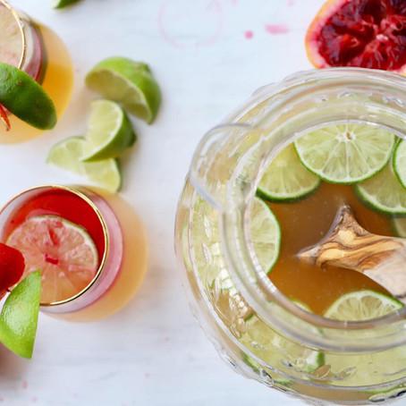 Blood Orange Margarita Pitcher
