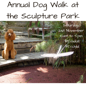 Annual Dog Walk at the Sculpture Park