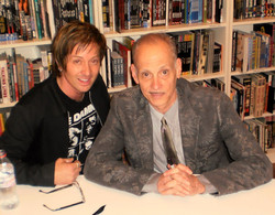Johnny Alonso with John Waters