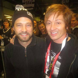 Jason Priestley & Johnny Alonso