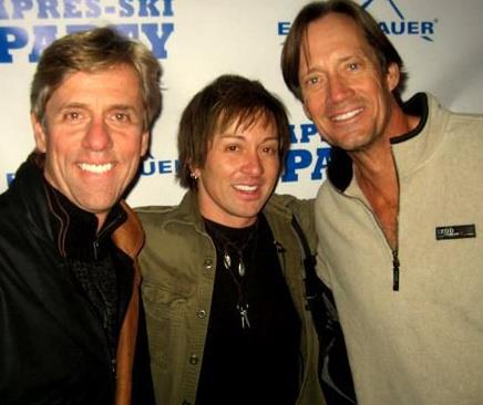 Actors Johnny Alonso and Kevin Sorbo