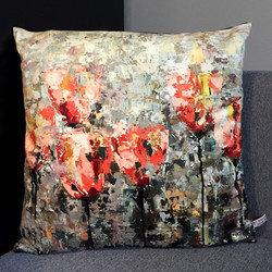 "Cushion ""Tulips III"""