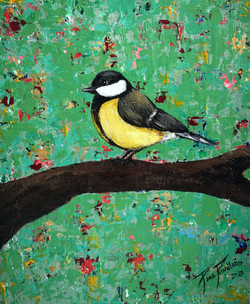 A Bird on my Abstract World nr5