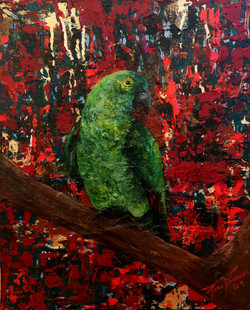 A bird on my abstract world nr3