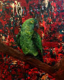 A bird on my abstract world nr3