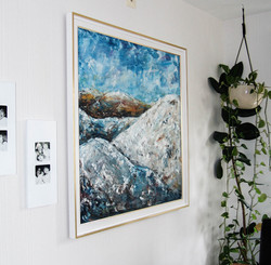 Painting by Paula Rindborg