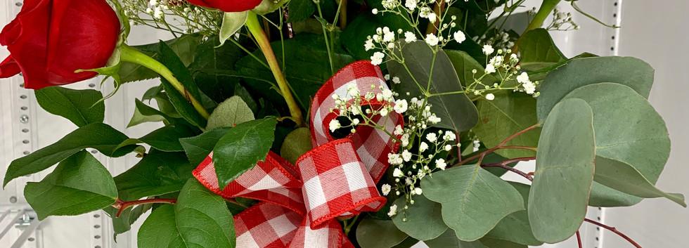 A Dozen Roses - $130.00