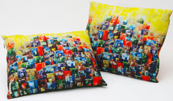 Cushions by Paula Rindborg