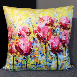 "Cushion ""Tulips II"
