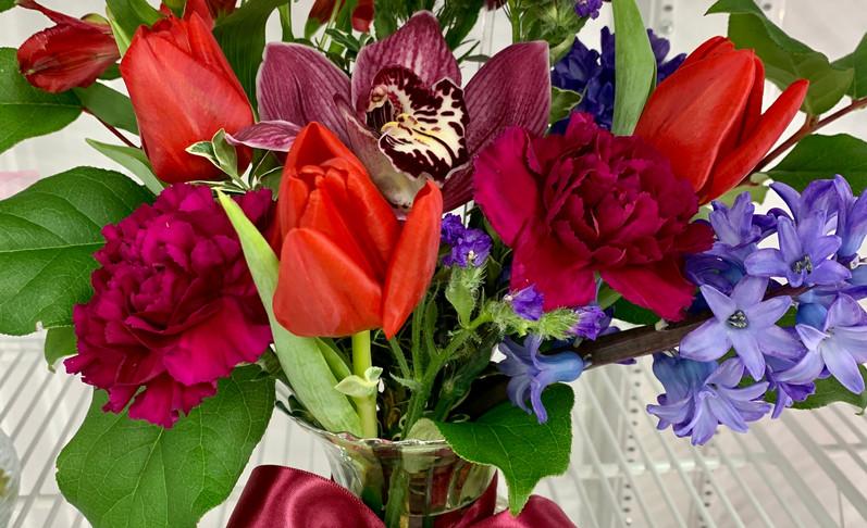 Burgundy Valentine - $55.00