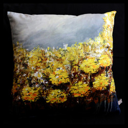 "Cushion ""Yellow Garden"""
