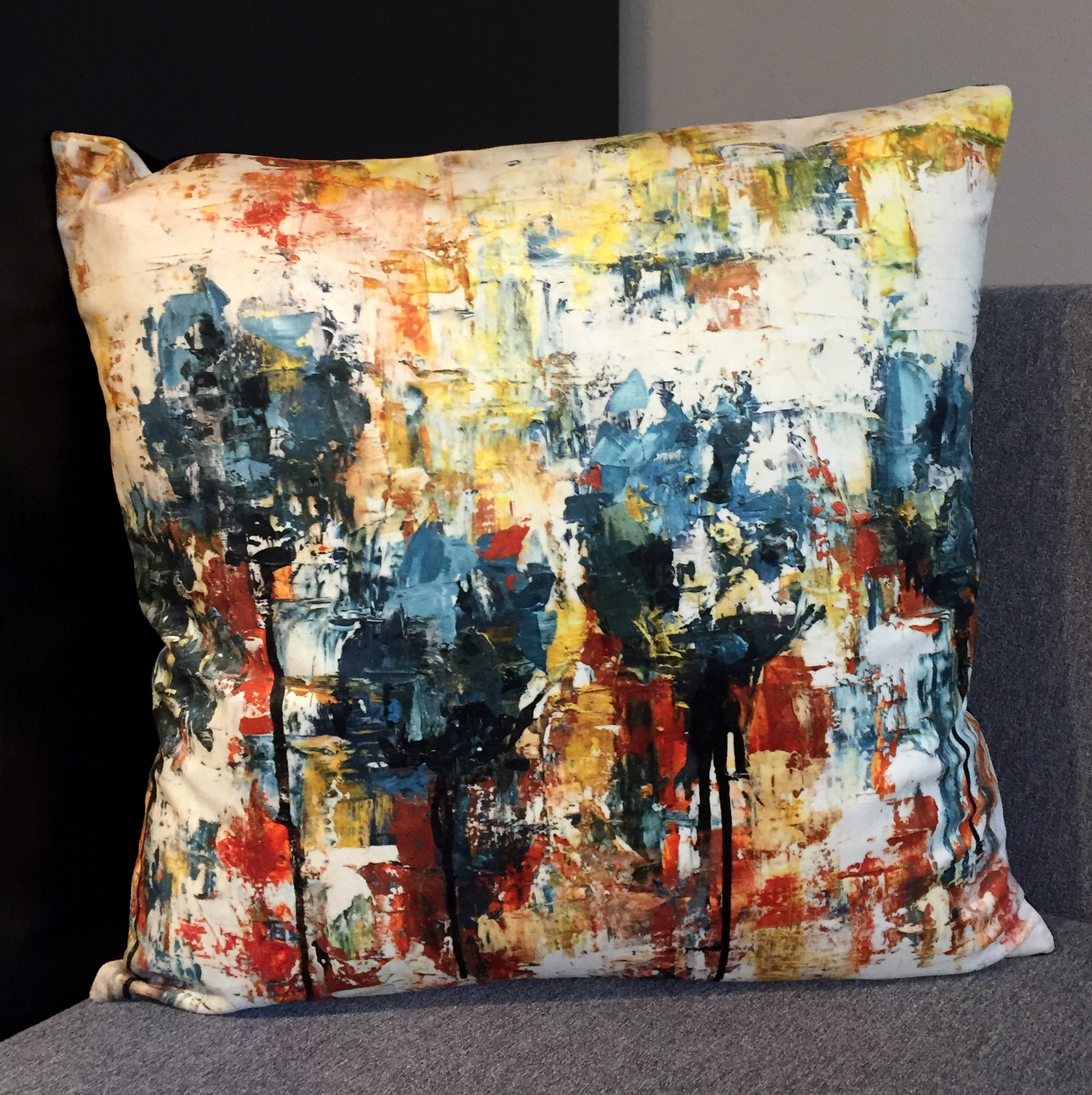 "Cushion ""Tulips IV"""