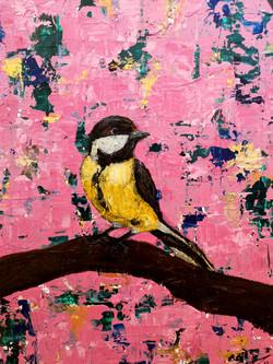 A bird on my abstract world nr2