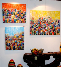 Paintings by Paula Rindborg