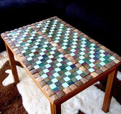 Recycled table by Paula Rindborg