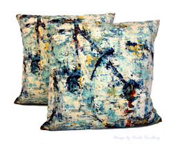 "Cushion ""Bike IV"" - 47x47cm - Velvet"