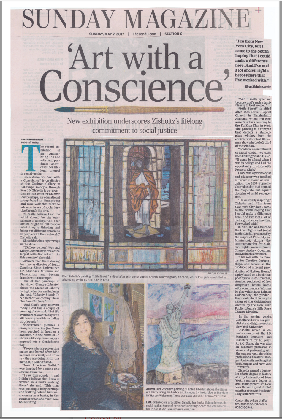 Cochran Gallery: Art with a Conscience