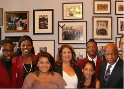 Visiting with Congressman John Lewis