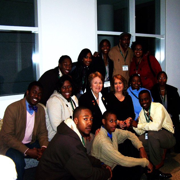 Anna with Students at SCSU.jpg