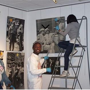 Harlem on My Mind Exhibit Installation.p