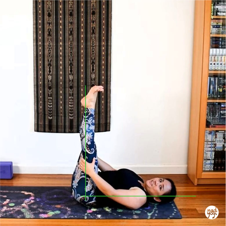 rediscover yourself, demystifying yoga, deconstructing yoga, mad yogi philosophy blogs, practical yoga for everyday life, supported lifted legs, supported pose, legs up the wall, modified pose, alternative for shoulder stand