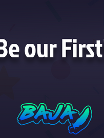 be our first.png