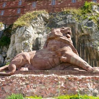 Le Lion de Belfort, un monument à la Défense nationale