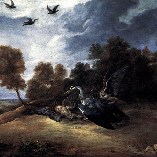 La Chasse au héron avec l'archiduc Léopold-Guillaume, par David Teniers le Jeune