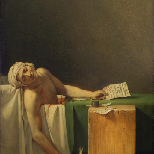 La Mort de Marat par Jacques-Louis David : une certaine idée de la France révolutionnaire
